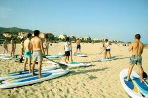 AC Languages Masnou: parla anglès amb nadius mentre fas esport i proves el paddle surf