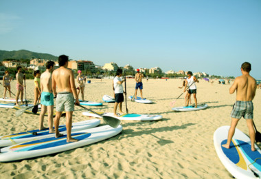 Paddle surf+ Chiringuito Speaking Thursdays