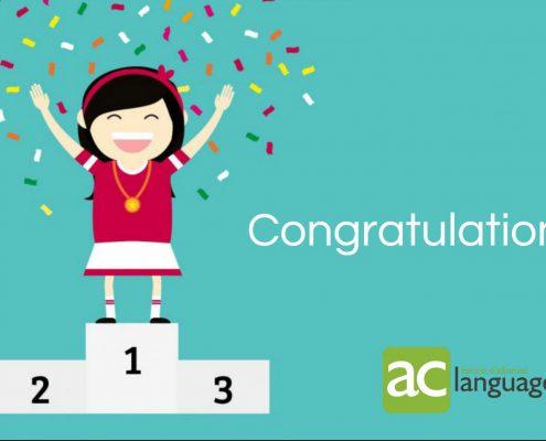 Guanyadors 1 mes gratuït AC Languages