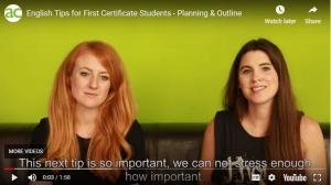 Captura de video de video de  AC Languages. Como hacer una buena redacción en inglés. Puntos organizativos a seguir.