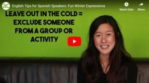 Captura expresiones de invierno en inglés