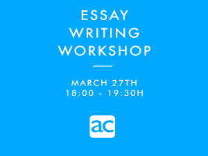 Workshop writing AC School of English Masnou