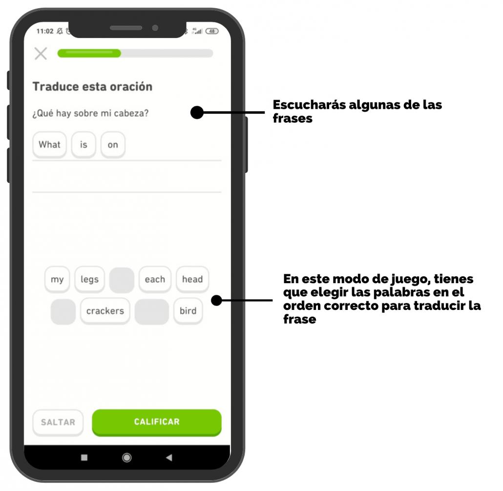 Duo lingo - aplicacion para aprender ingles - AC Languages