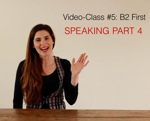 videoclass #5 - speaking part 4 - AC Languages