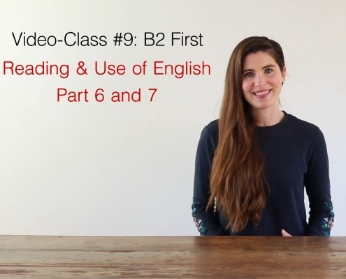 video class #9 B2 first - AC Languages