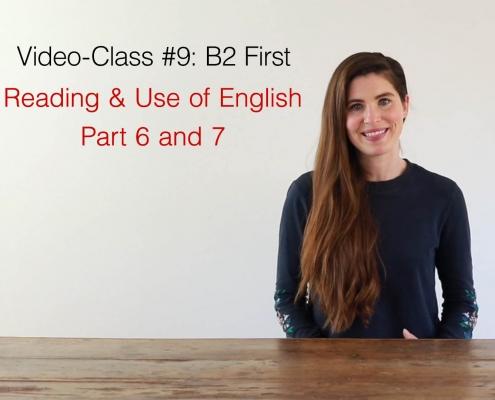 video class #9 B2 first - AC Languages