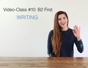 B2 first video class 10 - AC Ingles
