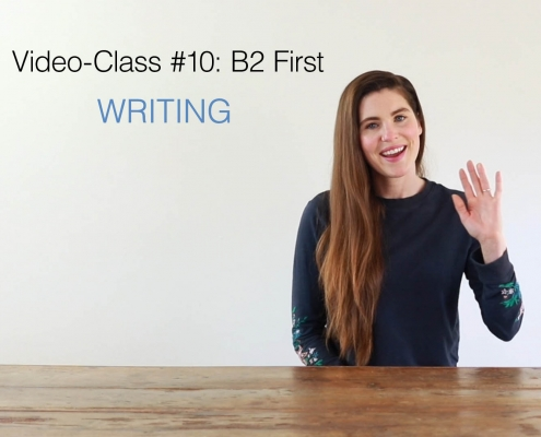B2 first video class 10 - AC Ingles